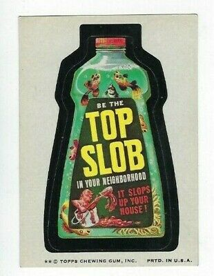 1974 Topps Wacky Packages 7th Series 7 TOP SLOB nm-