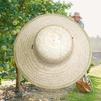 Hot Chinese Oriental Vietnamese Coolie Straw Bamboo Sun Farmer Fishing Rice G2W8
