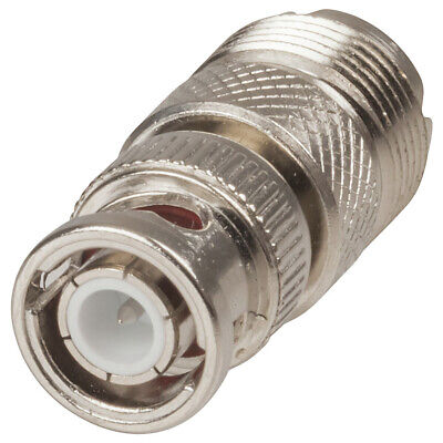 BNC Plug to PL259 Socket Adaptor