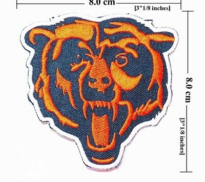 Chicago Bears NFL Sport Patches Embroidery Iron on, sew on.