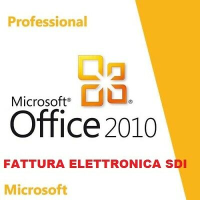 Office 2010 Professional Plus Pro Key 32/64 Bit - Licenza Esd - Fattura Italiana