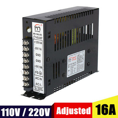 16A 110/220V Arcade Switching Power Supply Multicade Jamma 8 Liner Game Cabinets