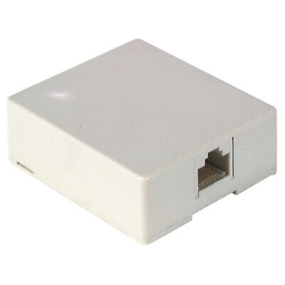 RJ45 Side Entry Surface Mount 8P8C