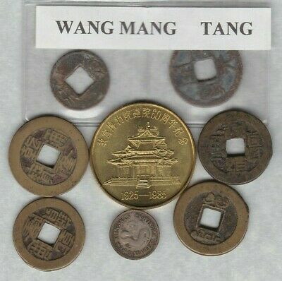 Eight Items From China In A Used Condition