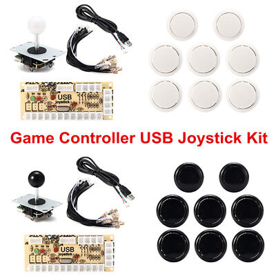 Pro Zero Delay Arcade Game Controller USB Joystick Kit Set for MAME Raspberry Pi