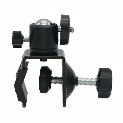 Heavy Duty Dual Double for Photo Studio U Clip Clamp  Boom Arm Light Stand LG