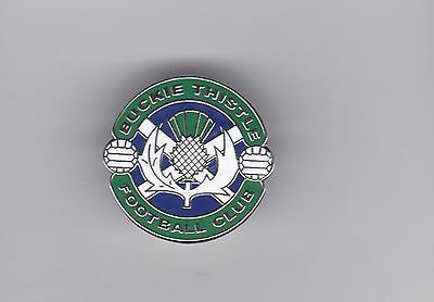 Buckie Thistle ( Scottish Highland League ) - lapel badge butterfly fitting