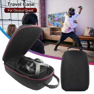 FOR Oculus Quest Case All-in-one VR Gaming Headset Storage Box Travel Case