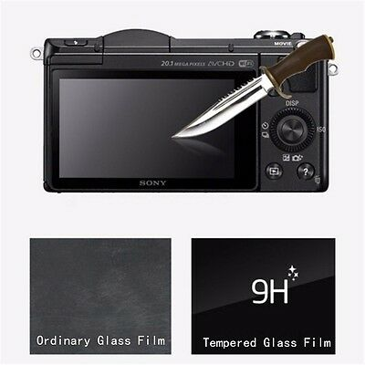 LCD Screen Tempered Glass Protector Guard Film For Sony Alpha A6000