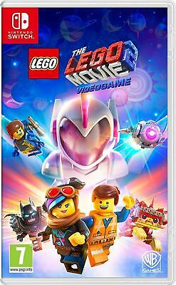 The Lego Movie 2 Switch New Sealed, Foreign Cover, English In Game