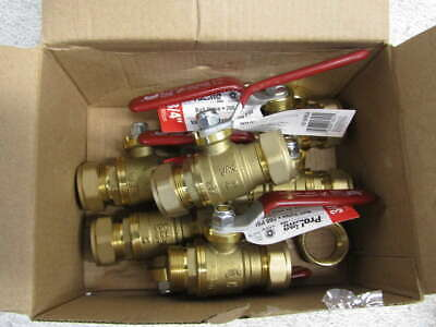 Lot of 6 Proline 3/4 in Ball Valves 107-024NLA