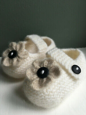 Beautiful super soft felted hand-made Lambswool Booties – 4 Styles