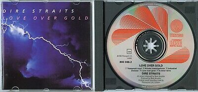 DIRE STRAITS Love Over Gold WEST GERMANY CD w NEU MINT early press NO LABELCODE