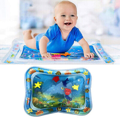 Cute Inflatable Baby Water Mat Fun Activity Play Center for Infants 3month 1Pc
