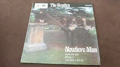 """The Beatles - Nowhere Man - Uk Issue - 7"""" Ep - Excellent"""