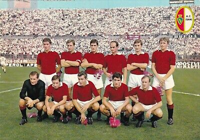 Calcio/Football Cartolina sq. TORINO 1964 con MERONI originale