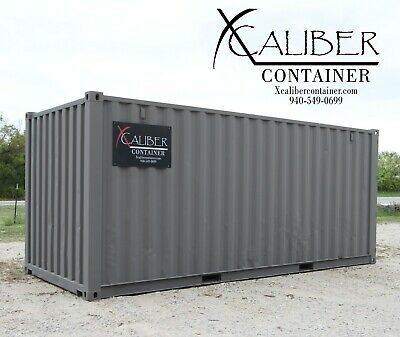20' STD Refurbished Shipping Container Conex Box Cargo Container Abilene, Texas