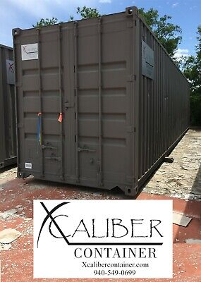 40' HC Refurbished Shipping Container Conex Box Cargo Container Sunset, Texas