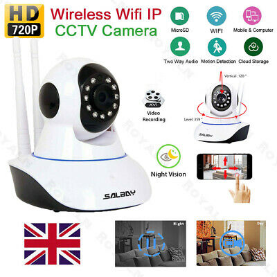 Wireless HD 720P IP Camera Wifi Webcam Home CCTV Security Night Network Vision