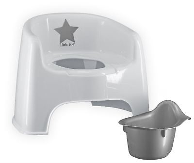 Strata SILVER LINING POTTY CHAIR Baby Child Toilet Training BN