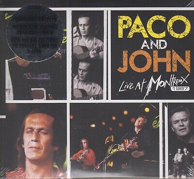 De Lucia & McLaughlin / Paco and John Live at Montreux 1987 - 2-CD-Deluxe (NEW)