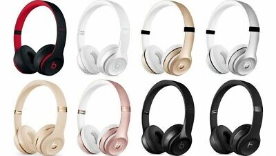 NEW Beats by Dr. Dre - Beats Solo 3 Wireless Bluetooth Over The Ear Headphones