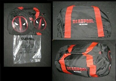 Original 2016 DEADPOOL DUFFLE BAG Industry Promo Not For Resale MINT 8 X 11 X 19