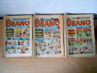 Beano Comics. Job Lot. 110 Copies. 1983-85.