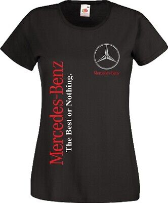 Mercedes Benz T Shirt Motorsport F1 Racing MotoGP Best Fan Women Ladies Top