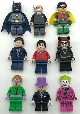 Lego New Batman Minifigures from Set 76052 Batcave Super Heros YOU PICK!!