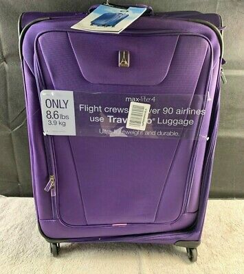 a4862ee7e TRAVELPRO MAXLITE 4 Expandable 29 Inch Spinner Suitcase,Purple ...