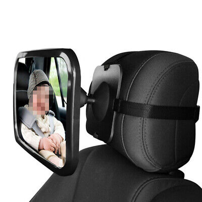Car Rear Seat View Mirror Baby/Child Seat Car Safety Mirror Monitor Adjustable