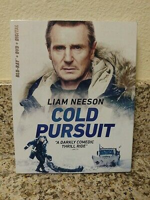 Cold Pursuit (Blu-ray + DVD + Digital + Slip Cover) FACTORY SEALED