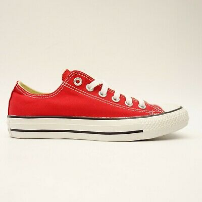 CONVERSE FEMMES TAILLE US 7 Ue 37.5 Chuck Taylor Basse Rouge Ox Chaussures