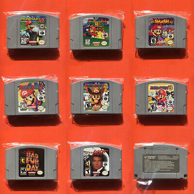 Video Games Card Cartridges Nintendo N64 Console US Version Multi-Color UK
