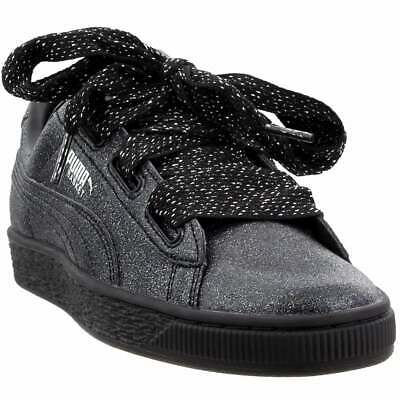 PUMA BASKET HEART Holiday Glamour Toddler's Shoes Black