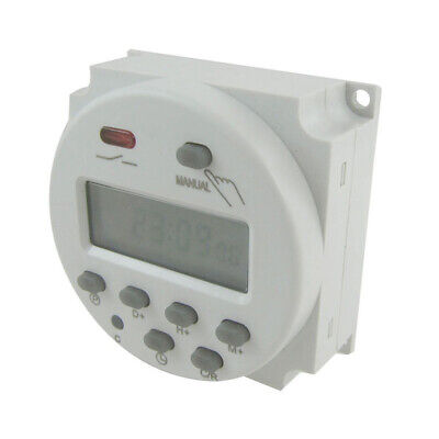 DC 12V/16A Digital Time Mini LCD Power Weekly Programmable Timer LCD Display New