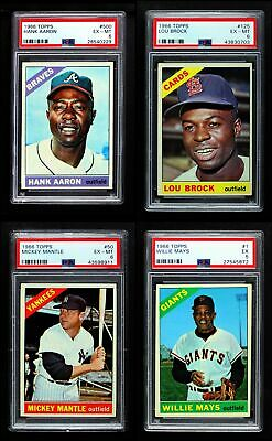 1966 Topps Baseball Low Number Complete Set EX/MT