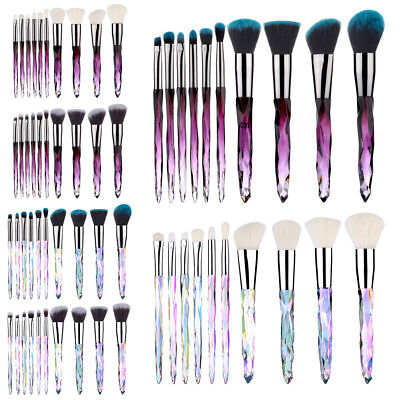 10Pcs Unicorn Make up Brushes Set PRO Foundation Eyeshadow Lip Makeup Tools Kits