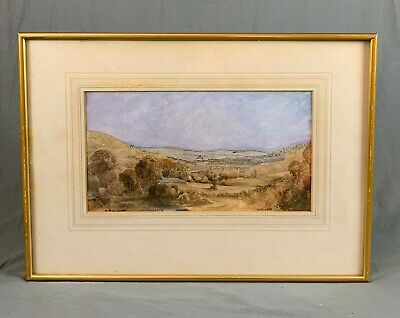 19th Century Watercolour Painting by The Rev James Bulwer 1794-1879 Bath 1829