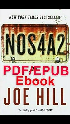 Nos4a2 by Joe Hill 🔥Same day delivery!🔥