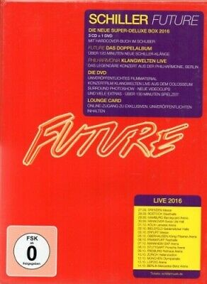 Schiller - Future - Limited Super Deluxe Edition - DVD + 3 CD - Neu / OVP