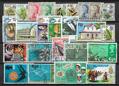 FIJI  STAMP COLLECTION PACKET of 25 DIFFERENT Stamps NICE SELECTION