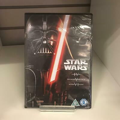 Star Wars The Original Trilogy Episodes 4 5 & 6  DVD - New and Sealed