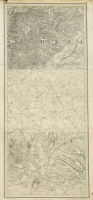 MS&LR/Great Central Leicester-Loughborough-Nottingham ORDNANCE SURVEY 1893 map