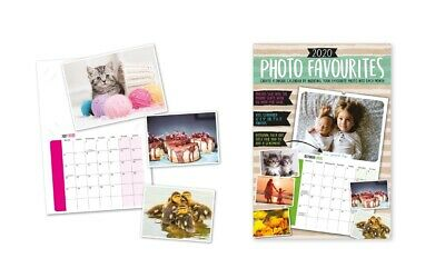 3 x Make Your Own Personalised A4 Photo Calendar 2020 Add Pictures Gift YPP20