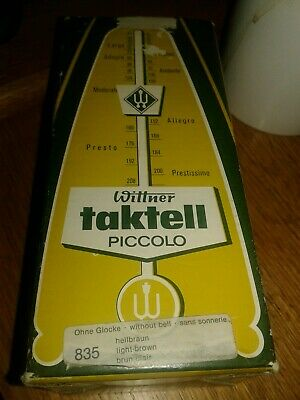 Wittner Taktell Piccolo Metronome Ivory Made in Germany