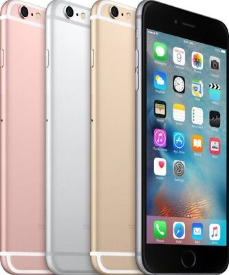 "Apple iPhone 6S 64GB GSM ""Factory Unlocked"" Smartphone Silver/ Gold/ Rose/ Grey"