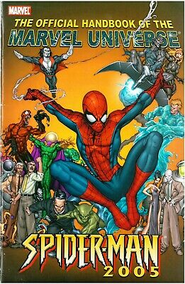 Official Handbook of the Marvel Universe Spider-man 2005 Tom Raney Cover Morbius