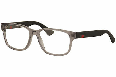 f9589b253c0c Gucci Eyeglasses GG0011O GG/0011/O 003 Black Crystal/Grey Optical Frame 53mm